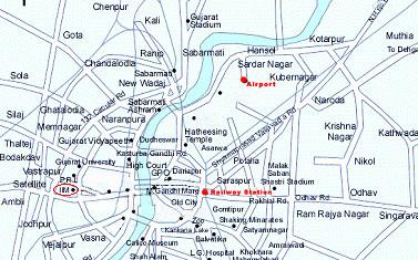 Maps  IIMA